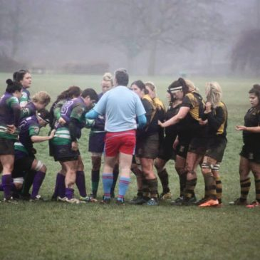 Llandaff North Ladies v Barry Bombettes 25/01/2015