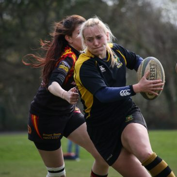 Llandaff North Ladies v Pen y Banc RFC Super Cup quarter final 12.04.15