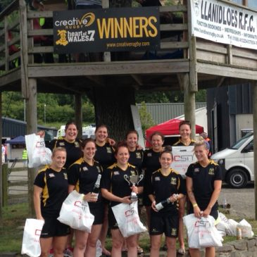 North Ladies win Creative Rugby's Heart of Wales 7's