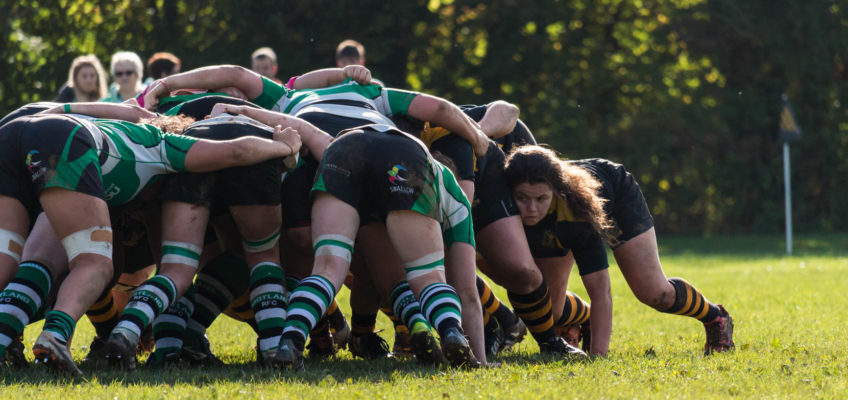 Llandaff North Ladies vs Whitland RFC Ladies 16.10.2016